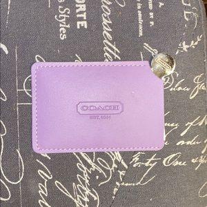 COACH Card Holder Sleeve